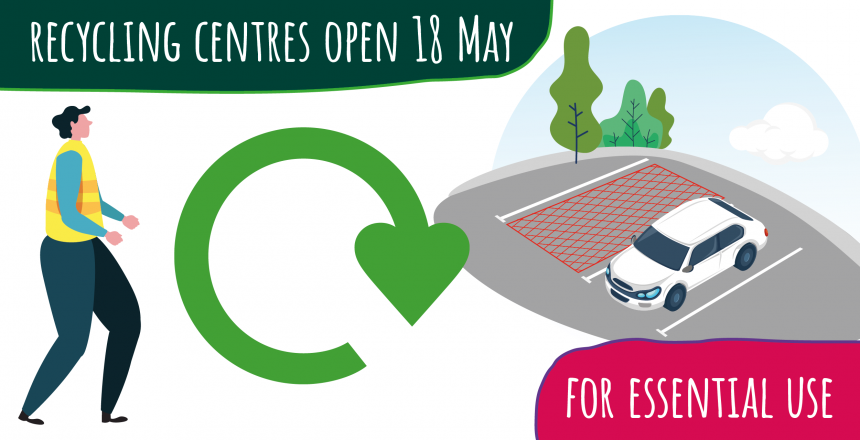 Recycling centres open